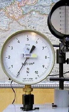 Поверка средств измерения давления, перепада давления, температуры, счетчиков расхода газа,корректоров (вычислителей) газа, сигнализаторов загазованности